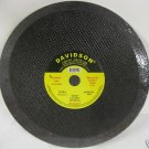 """New 1 Pc Davidson 14"""" Grinding Wheel for Metal RPM 4400"""