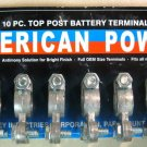 American Power 10Pc. Top Post Battery Terminal BT01-10