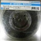 """Wire Wheel Brush 6"""""""