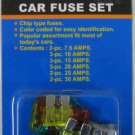 New Cal-Hawk 15-Pc Car Auto Fuse Set 7.5 AMP-30 AMP