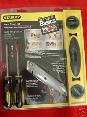New Stanley 5 pc Home Project Set