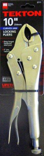 "New MIT 10"" Curved Jaw Locking Pliers #3711"