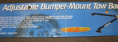 NIB Adjustable Bumper Mount Tow Bar