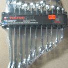 """New MIT 11-Pc. Combination Wrench Set 1/4"""" - 7/8"""" SAE #1912"""