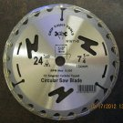"New Grip Tight 7-1/4"" 24T C2 Circular Saw Blade #N1611-B-1"