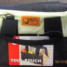 New Jtech Tool Pouch with Zipper and Strap 6 Handy Outside Pockets #BA-L1
