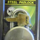 "New Grip Tight Tools 2-5/8"" Short Shackle Steel Padlock #GAP01"