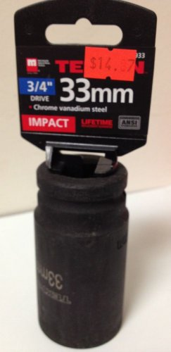 "New MIT 3/4"" Dr. x 33mm Deep Impact Socket #4933"