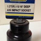 """New Wisdom 1/2"""" Dr. x 5/16"""" Deep Air Impact Socket #12-IS1516J-2"""
