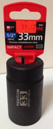 """New MIT 1/2"""" Dr. x 33MM Deep Impact Socket #4943"""