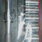 "New MIT 11 Pc. 3/8"" Drive Socket Set w/Ratchet SAE #1816"
