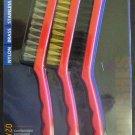 New MIT 3-Pc. Wire Brush Set #7068