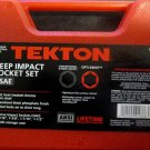 "New MIT/Tekton 5-Pc. Deep Impact Socket Set 1/2"" Dr. SAE # 4886"