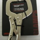 "New MIT 6"" Locking ""C"" Clamp  1-1/2"" Jaw Capacity  # 3815"