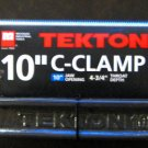 "New MIT/Tekton 10"" C-Clamp, Vise Tool  # 4035"