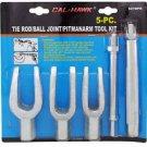New Cal-Hawk 5 Pc Tie Rod/Ball Joint/Pitman Arm Tool Kit # CZTBPK