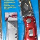 Cal-Hawk Folding Utility Knife w/10 Blades # CKUF