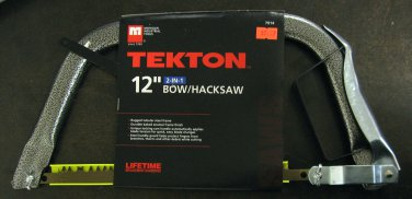 """New MIT/Tekton 12"""" 2-in-1 Deluxe Bow Hacksaw # 7914"""
