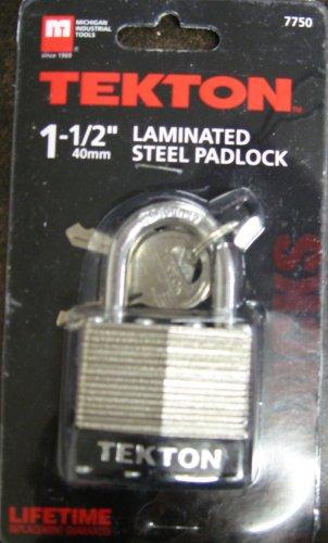 "New MIT/Tekton 1-1/2"" Laminated Steel Padlocks # 7750"