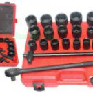 "New King 27 Pcs 3/4"" Dr SAE & MM Combination Impact Socket Set  # 0658-1"