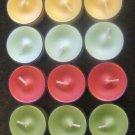 New Partylite 18-Pack Tealight sampler 3 of each kind
