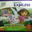 Like New Leapster Explorer Dora The Explorer Learning Game Ages 4-7