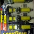 "New Goodyear 15ft RATCHET Tie Downs (Commercial Grade,1.5"" Wide, 4 Pack)"