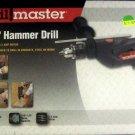 """New Drill Master 120 Volt 1/2"""" Hammer Drill #69947"""