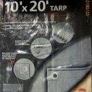 New Tekton 10' x 20' Silver Tarp #6325