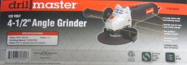 "New Drillmaster 120V 4-1/2"" Angle Grinder #69645"