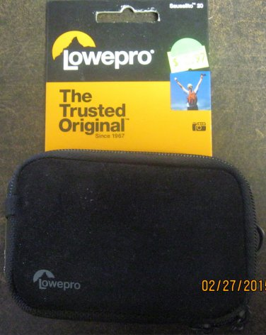 New Lowepro Sausalito 20 Black Case