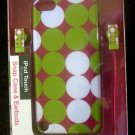 New FashionationMacbeth Collection iPod Touch 5th generation case & ear buds