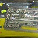 New MaxCraft Mechanics 52-Pc. Socket Set #1035/61035
