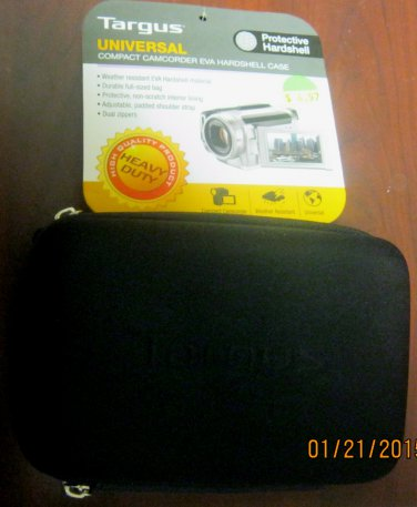New Targus Universal Camcorder Hardshell Protective Case TGC-EC810
