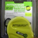 """New Pittsburgh 16' x 3/4"""" QuikFind Tape Measure #69100"""