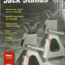 New 3 Ton Steel Jack Stands - 11-3/4 in. Min, 16-3/4 in. Max 6,000 lbs Car Truck