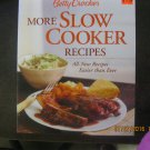 New Betty Crocker More Slow Cooker Recipes