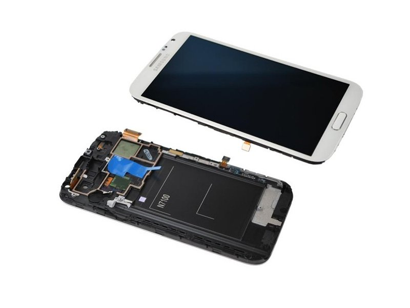 LCD Touch Digitizer Screen with Frame for Samsung Note 2
