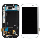 NEW OEM Samsung S3 i747 T999 LCD Touch + Frame Assembly WHITE