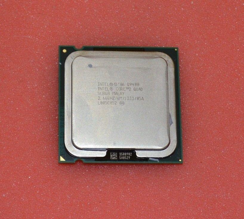 Intel Core 2 Quad Q9400 2.66GHz/6M/1333 Quad-Core Processor SLB6