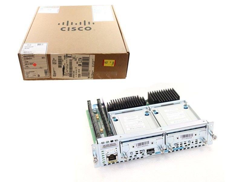 New Cisco SM-SRE-900-K9 2x SM-DSK-SATA-500GB 4GB Control Processor ISR G2 2900