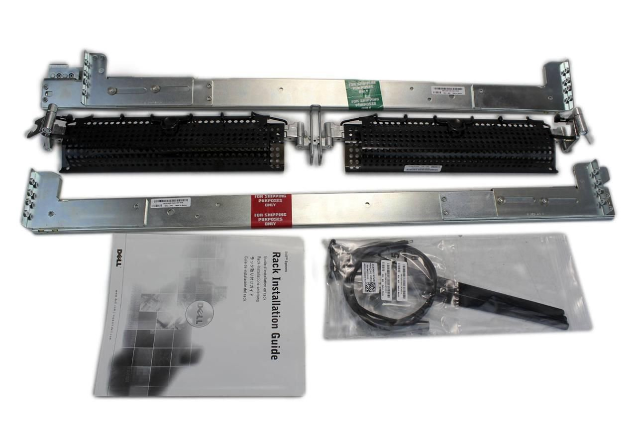 Genuine Dell PowerEdge 2850 2650 Server 2 Post Rapid Rail Kit GJ183 JJ014