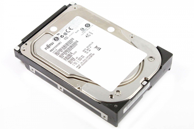 """Fujitsu 300GB SAS 3.5"""" 15K Hard Disk Drive MBA3300RC"""
