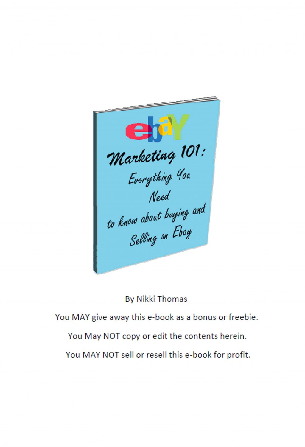 ebay marketing In this course you will learn 2 simple marketing tricks that should help you to  catapult your ebay/ ecommerce business.