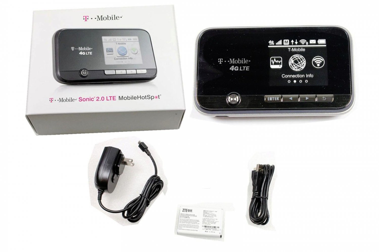 Brand New OEM T-Mobile 4G Sonic 2.0 LTE Wi-Fi USB Mobile HotSpot