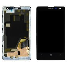 OEM Nokia Lumia 1020 LCD Display Touch Glass Digitizer Screen + Frame Assembly