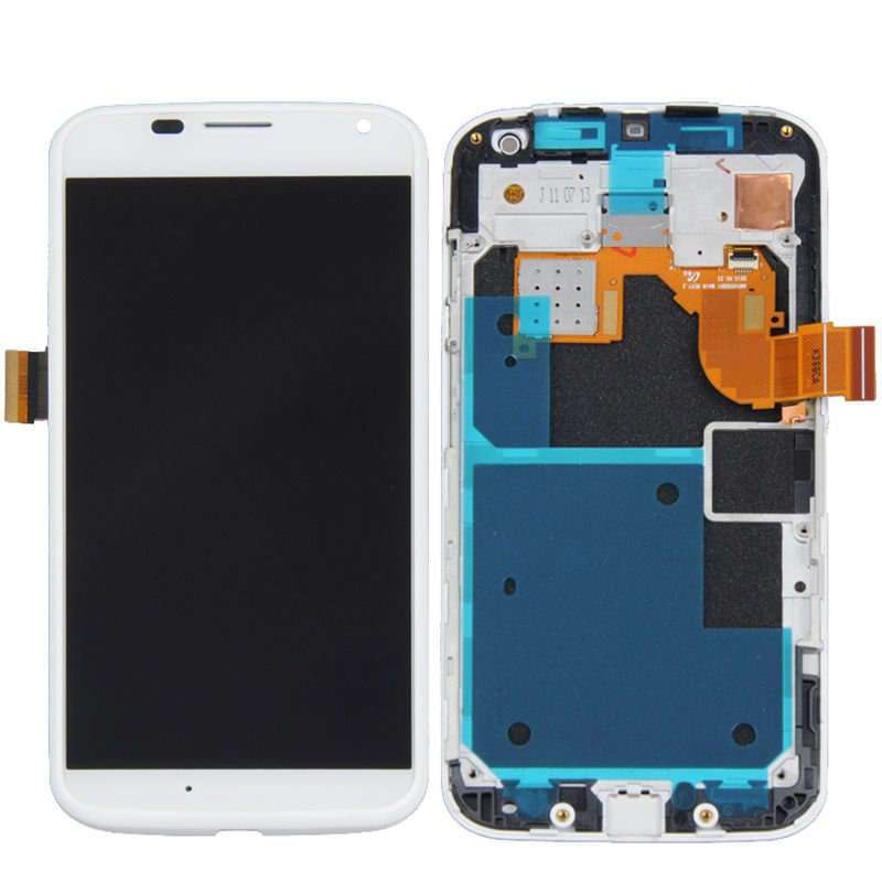 NEW Motorola Moto X XT1060 XT1058 XT1056 XT1053 LCD Screen Digitizer Touch + Frame OEM