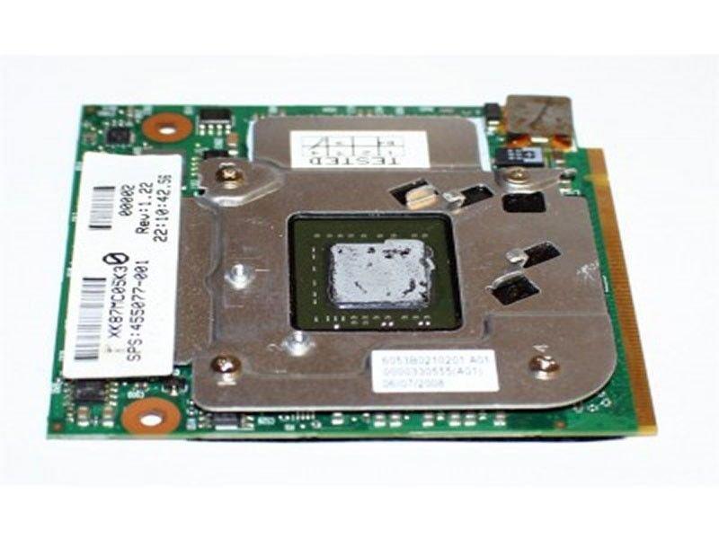 New OEM HP EliteBook 8510W nVIDIA 256MB Laptop Video Graphic Card - 455077-001