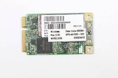 OEM HP 2510p Broadcom Dual-Band 802.11a-b-g-n PCI Express Laptop Wireless Card - 441530-002