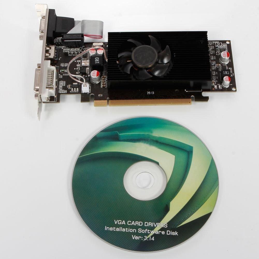 New PCI Express x16 1GB 64Bit DDR2 Graphics Video Card for Desktops